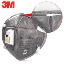 Original 3M 9542V N95 Grey Safety Protective FFP3 Dust safe Masks Anti-PM 2.5 Sanitary Working Respirator With Filter Structure
