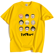 Print Tshirt Volleyball Club Haikyuu Manga Bokuto Anime Kuroo Japan Cartoon Tops Hip-Hop