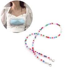 70 см/50 см длинный шейный ремешок ожерелье с разноцветными