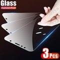 Закаленное стекло 3 шт. для Huawei Honor 9X 8X 7X, Защитное стекло для Honor 10X, 9, 8 Lite, 9A, 9C, 9S, 8A, 8C, 8S, 7A, 7C, 7S, 10i, 9i, V9, стекло