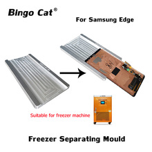Freezer Separating Mould For Samsung Galaxy S9 S8 Plus Note 8 9 S7 Edge S6 Edge plus LCD Screen Outer Glass Freezing Separation 2pcs high precision metal mold mould for samsung s6 edge s7 edge lcd screen laminating and location