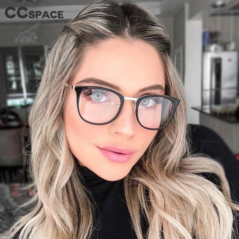 45937 TR90 Anti-blue Light Round Glasses Frames Men Women Optical Fashion Computer Glasses