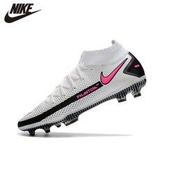 Original Nike- Phantom GT Elite Men Football Shoes Sports Sneakers High Ankle Ace Futsal Black Professional Chaussure FG 39-45