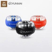 Youpin Yunmai เทรนเนอร์เทรนเนอร์ LED Gyroball Essential SPINNER Gyroscopic Forearm Exerciser Gyro Ball สำหรับ Mi Jia Mi Home ki D5 #