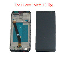 For Huawei Mate 10 Lite LCD Display Touch Screen Digitizer Screen Glass Panel Assembly for Nova 2i RNE-L21 Replacement +Tools for huawei honor 8 lite lcd display touch screen digitizer assembly replacement free tools
