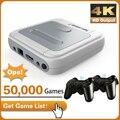 Игровая приставка X-Pro, Игровая приставка 4K HD с эмулятором ретро-игр, 50000 игр