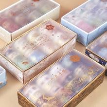 20 pçs/set retro papel de luxo washi fita palácio do vintage primavera flor estrela adesivo mashiking fitas para diário álbum decoração