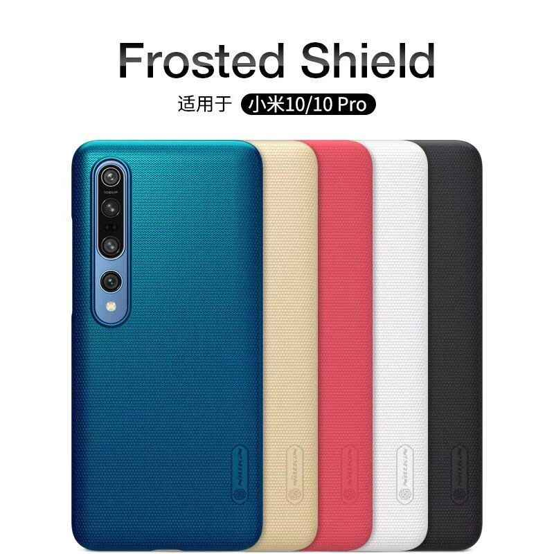 กรณีสำหรับ Xiaomi Mi 10 ฝาครอบ Xiaomi Mi 10 Pro Mi 9 SE 9T NILLKIN SUPER FROSTED SHIELD Matte PC HARD กลับสำหรับ Xiaomi Mi 10