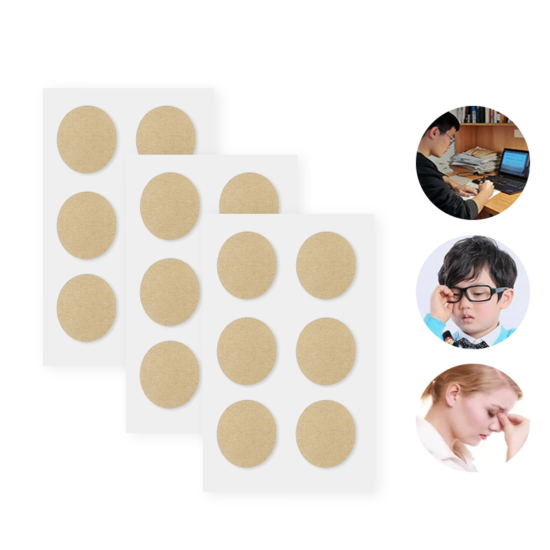 24pcs Chinese Herbal Eyesight Patch Relieve Eye Fatigue Myopic Amblyopia Improve Eyesight Medical Herbal Plaster Health Care 4