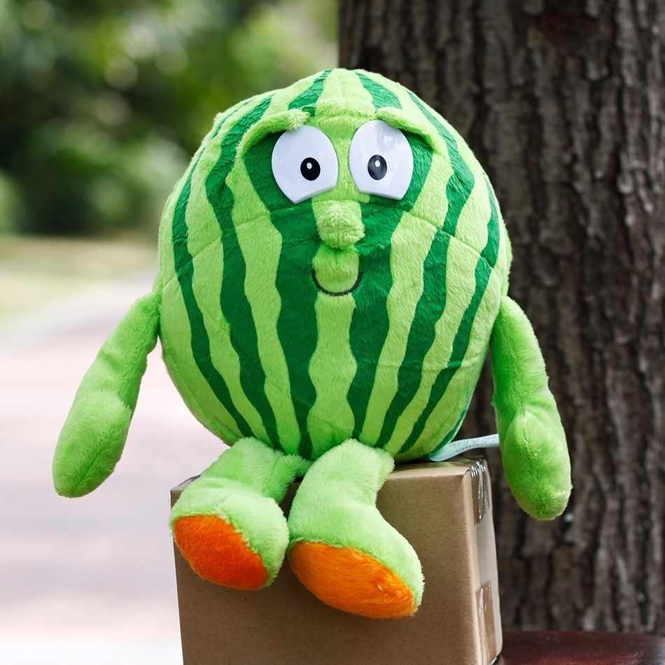 Frutas legumes série morango brócolis banana melancia cereja banana cogumelo macio pelúcia boneca brinquedo