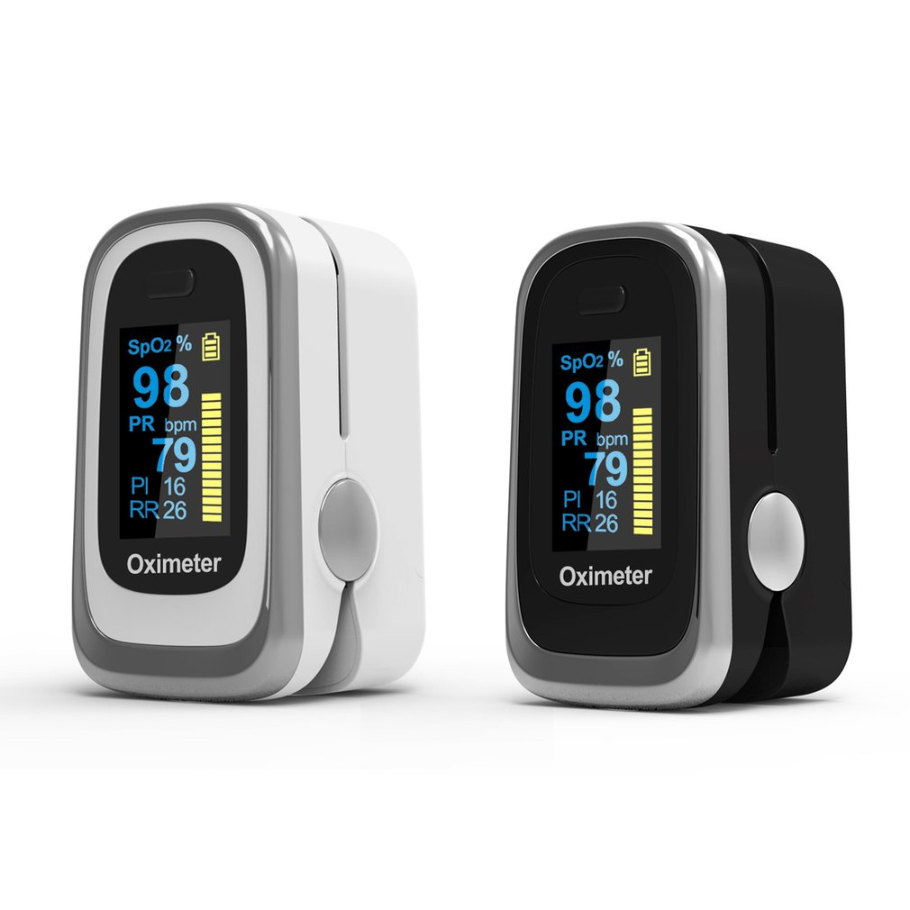 Finger Oximeter Fingertip Pulse Oximeter Medical Equipment With Sleep Monitor Heart Rate Spo2 PR Pulse Oximeter With Box