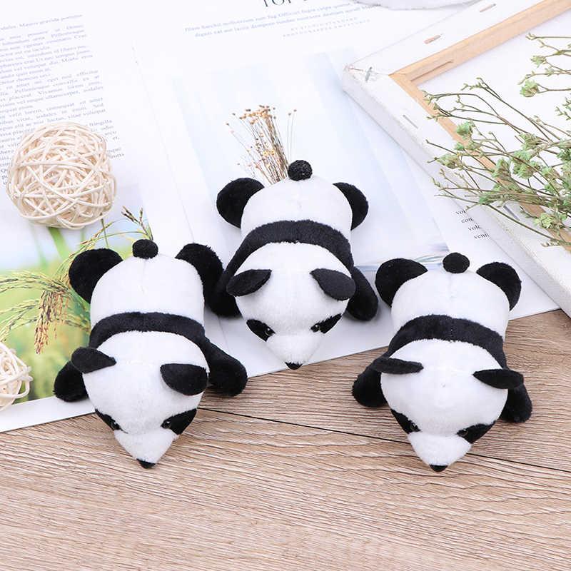 Bella Spilli Brooshes Farcito Sveglio Animale di Fascino del Sacchetto per I Bambini Delle Ragazze Cute Panda Vestiti Delle Donne Peluche