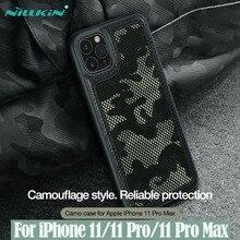 Cho iPhone 11 Pro Max Hiệu NILLKIN Ốp Lưng Camo Ngụy Trang Hoa Văn Vải Chống Nước Bung Tróc Trong Cho iPhone 11 / 11 Pro