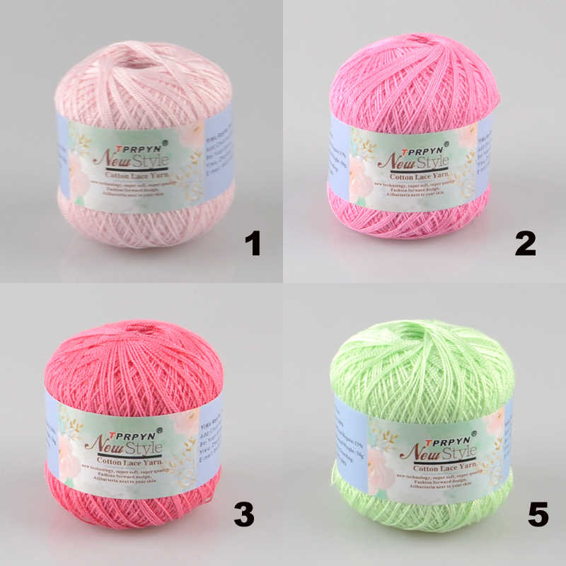 47  Crochet Cotton Yarn Thin Yarn Lace Cotton Crochet Yarns Hand-knitting Yarn Machine Knitting Crochet Threads
