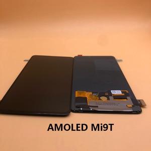 Image 5 - Nowy wyświetlacz AMOLED dla 6.39 Xiaomi Redmi K20 PRO MI9T LCD ekran dotykowy Digitizer odciski palców zgromadzenie dla Xiaomi Mi 9T