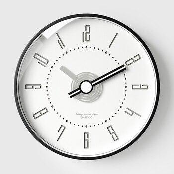 Creative Metal Wall Clock Nordic Large Living Room Silent Wall Clock Quartz Bedroom Wall Watch Wandklok Home Decor DD45WC