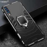 Funda armadura para Xiaomi Mi A3 CC9e, funda de teléfono con soporte para anillo para dedo, carcasa de TPU a prueba de golpes para Mi 9 10 CC9 Pro