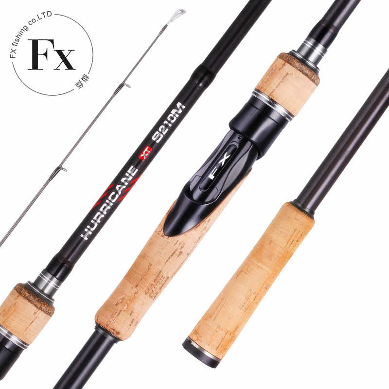 FX 1.8 M-2.7 M Carbon Fishing Rod SPINNING 3 ส่วนbaitcasting Perigee Travel Ultra SPINNING Casting Lure 5G-40G ML/M/MH Rod