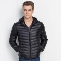 2019 New Winter Autumn Men's White Duck Down Jackets Coats Fashion High Quality Men Down Coats L 5XL 1501