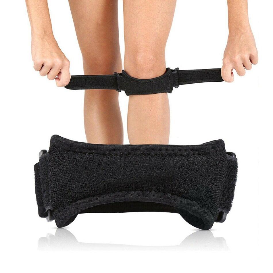 Adjustable Knee Tendon Support Patella Belt Sport Strap Knee Pads Protector Band For Knee Brace for Running Outdoor Sport