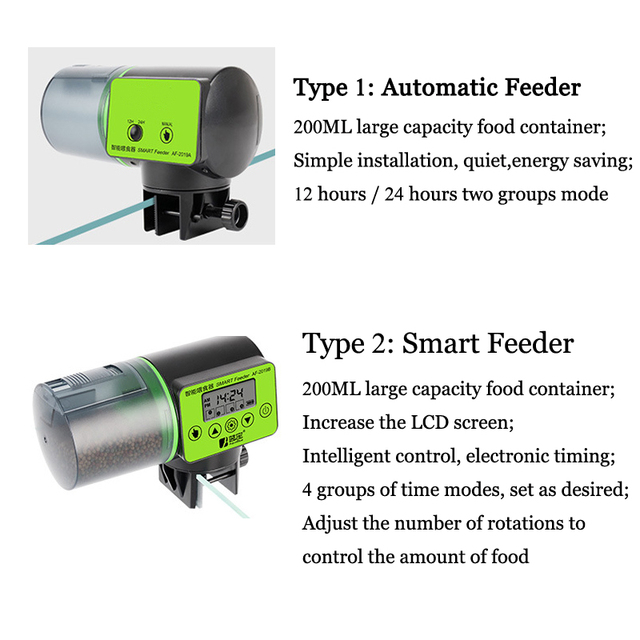 Smart Automatic Fish Food Dispenser with LCD Timer  5