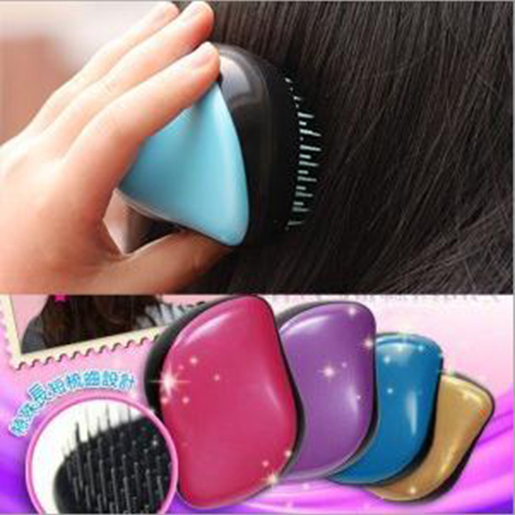 Manufacturers Supply Massage Comb Mo Fa Shu Tangle Teezer Hairdressing Comb Portable Models Wholesale