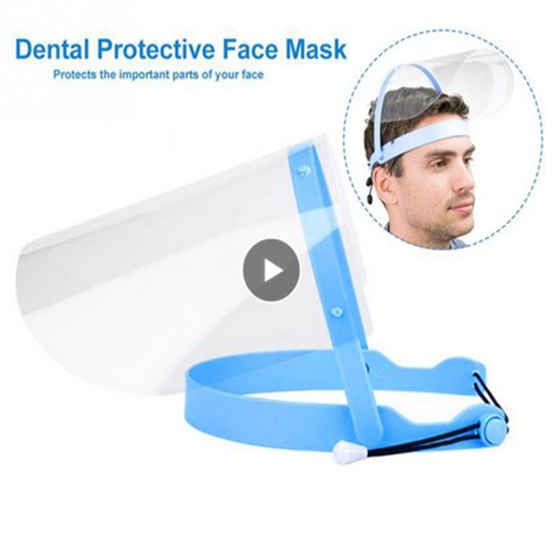 Transparent Anti Droplet Dust-proof Protect Full Face Covering Mask Visor Shield Practical Anti-fog Mask For Adults Children
