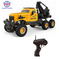 Rc car 1:16 military engineering vehicle 6wd remote control mountain bike sand off road obstacle remote control car military mod