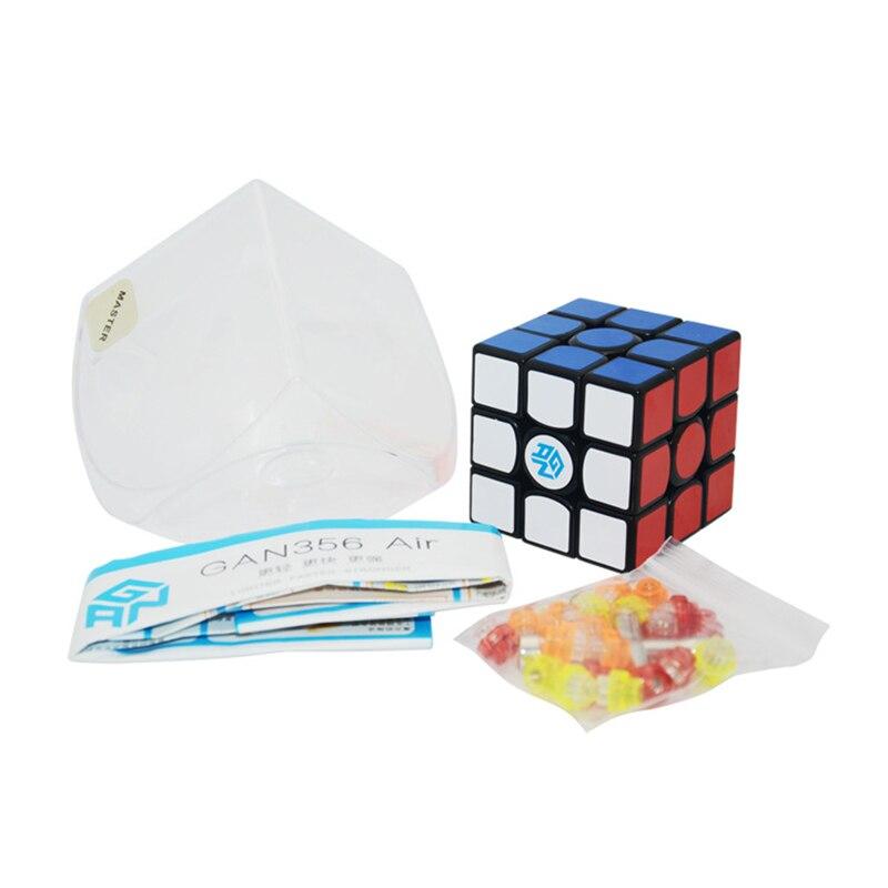 GAN 356Air 3x3x3 5.6cm professionnel Magicco Cubes vitesse Neo Cube Cubo Magico autocollant adulte Anti-stress Puzzle jouets pour enfants