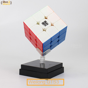 Image 3 - Moyu Weilong GTS3M Magnetic Cube 3x3x3 Magic Cube Speed GTS3 GTS2 GTS2M Original Cube 3x3 Magico Cubo 3*3*3 Black Stickerless