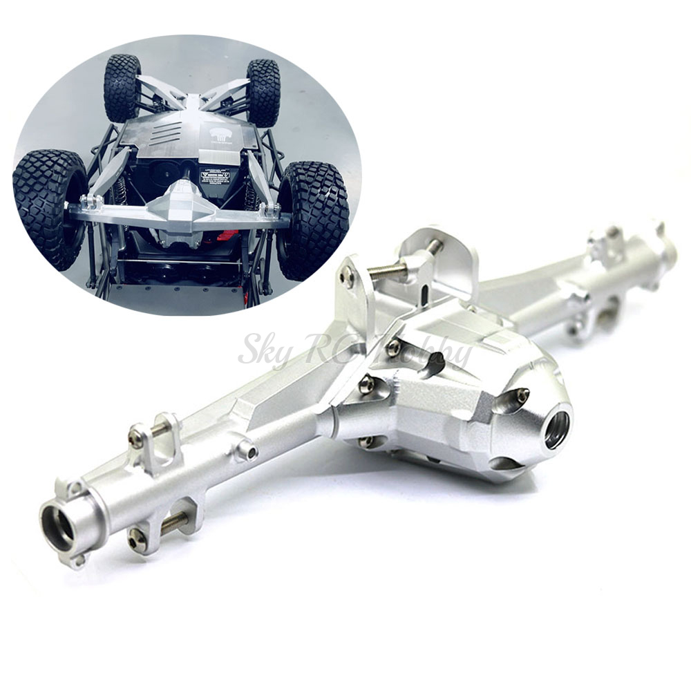 Rear Axle Shell Assembly Axle Gearbox Housing CNC Alloy for 1/7 TRAXXAS UDR UNLIMITED DESERT RACER Rock Crawler RC Car Parts