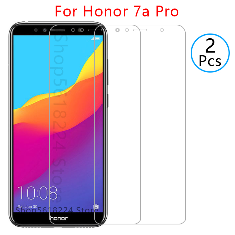 protective glass on honor 7a pro tempered glass for huawei honer 7apro 7 a a7 screen protector film glas aum l29 huawey onor 5.7(China)