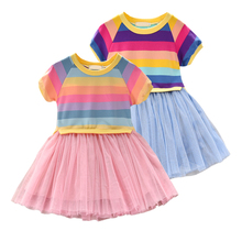 HOT Dress Summer Baby Girls Children Clothing Baby Girls Sleeveless Dresses Clothes Kids Girl Cotton Princess Dress Outfits w l monsoon baby girls dress with sashes 2017 autumn brand princess dress girls clothing flower kids dresses children clothes