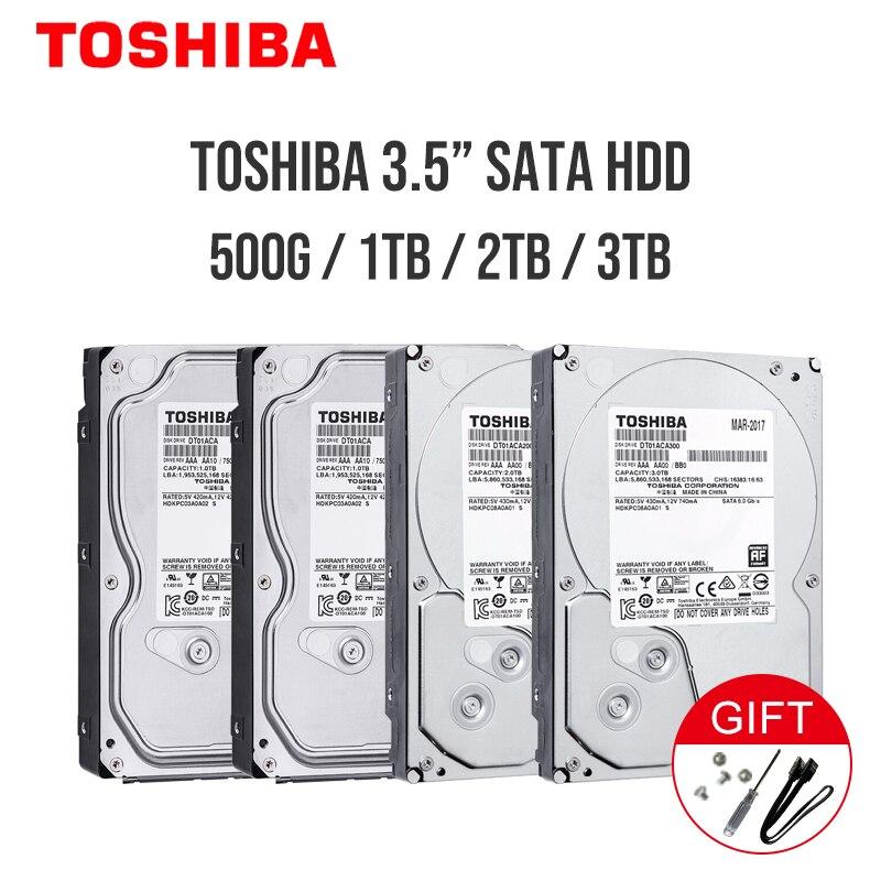 """TOSHIBA 1TB 2TB 3TB 4TB 6TB 8TB 10TB Disco Duro HD 3,5 """"7200RPM 32MB 64MB 128M 256MB SATA3 Original HDD"""