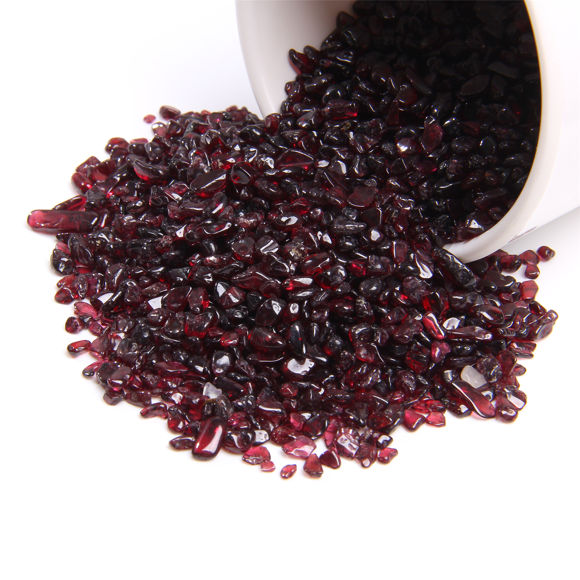 Beads Stone Garnet-Chips Nugget Tiny Natural Jewelry Craft-Decor Diy-Making Loose