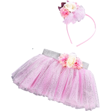 Для маленьких девочек детская юбка пачка для наряд на первый