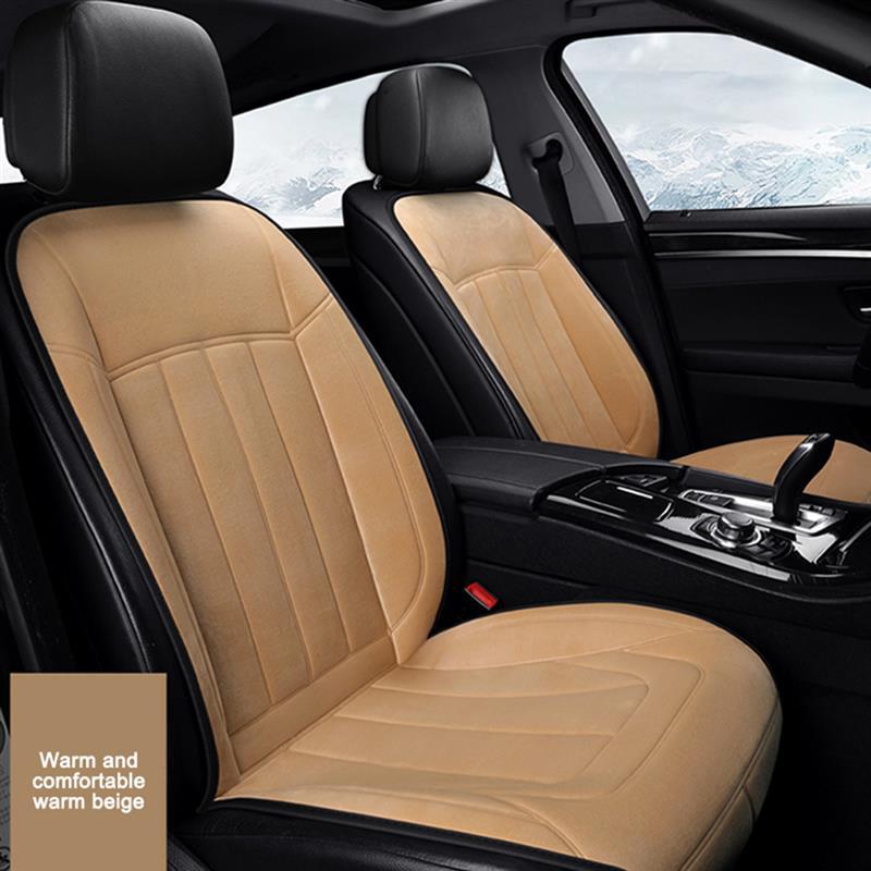 AOZBZ 12-24V Adjustable Heated Car Seat Cushion Cover Seat Heater Warmer Winter Cushion Keep Warm Car Seat Cover