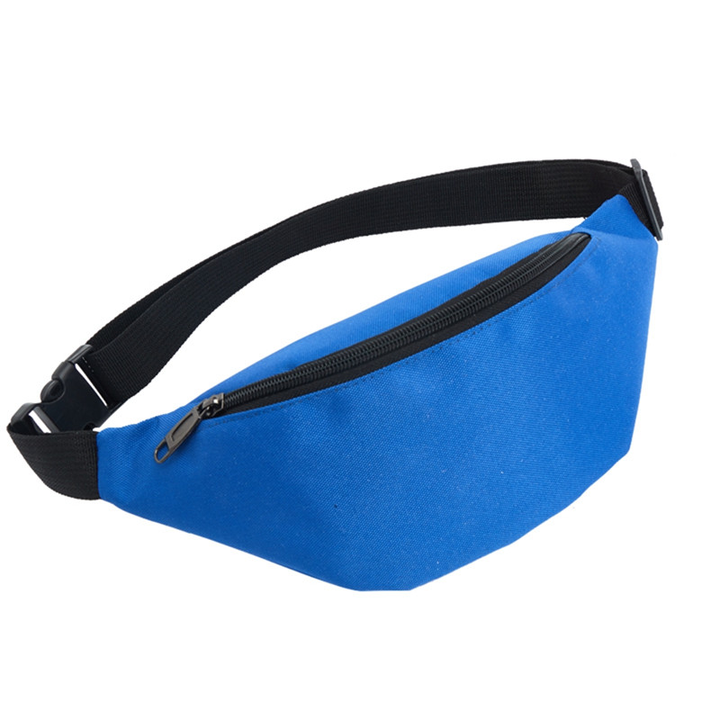 2020 Outdoor Sports Waterproof Waist Bag Man Women Hiking Cycling Running Bum Hip Bag Unisex Casual Solid Fanny Pack 7 Colors