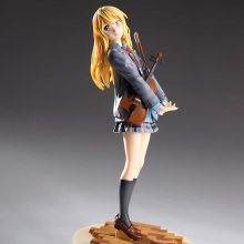 20cm Japanese anime Your Lie in April Miyazono Kaori PVC action figure beautity girl Miyazono Kaori figure collectible model toy 1pcs 20cm pvc japanese sexy anime figure expelled from paradise angela balzac action figure collectible model toys brinquedos