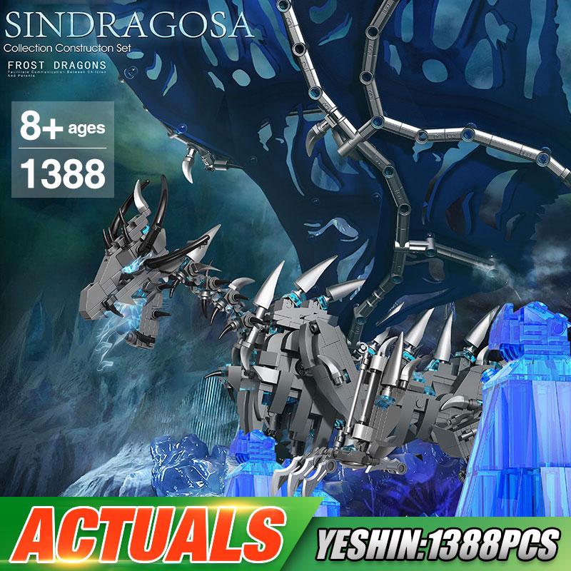 Yeshin K91 The Frost Dragon Sindragosa Queen Building Blocks