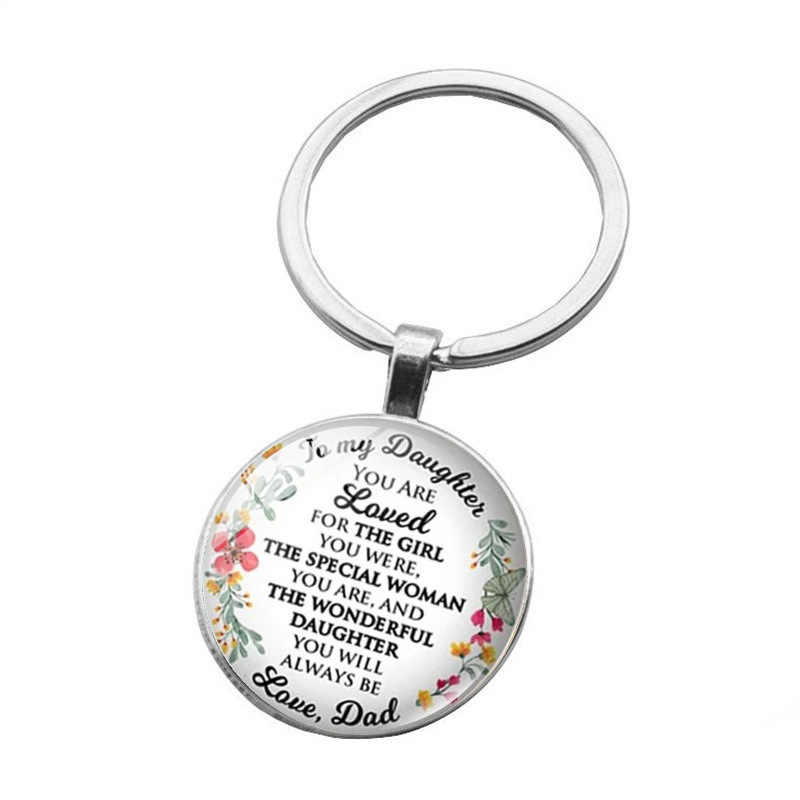 YGLCJ Family Mom Dad Daughter Son Pet Keychain Teacher'S Day Gift Customized Best Teacher Keyring Mother Father Kid Keychain