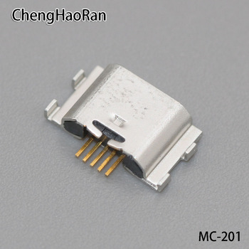 ChengHaoRan 1PCS 5P Mini USB jack charging port Micro USB connector for Lenovo S850 A8 A808T S850T S850E X2 X2-TO X2-CU image