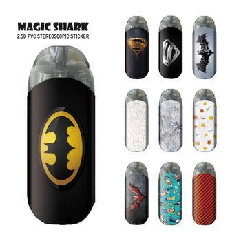 Magic Shark-Superman y murciélagos para hombre, dibujo de piedra de fruta, Adhesivo...