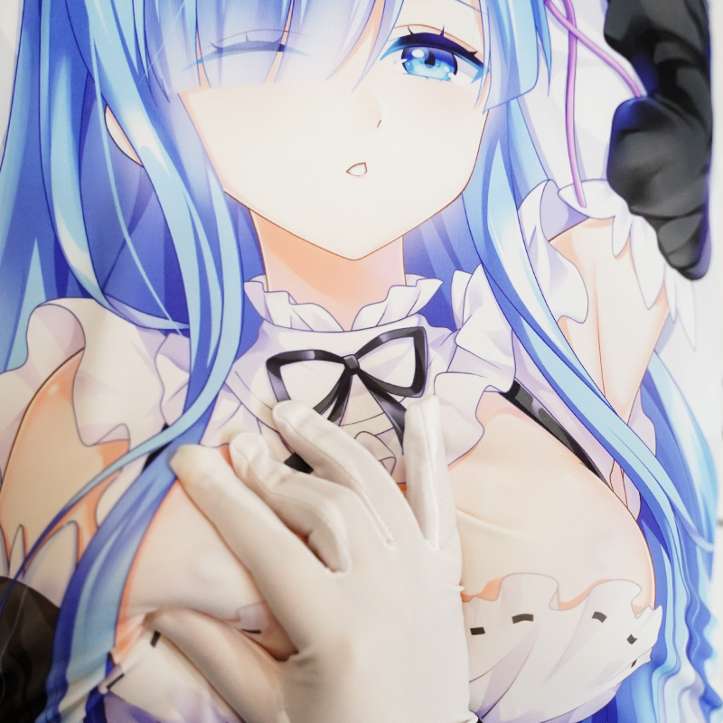 3D Full Printing Silicone Artificial Simulation Breast B Cup Anime Dkimakura Pillowcase Hugging Body Pillow Cover Case