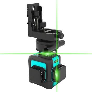 MiLESEEY 3D Laser Level 360 12 Lines Laser Level Self Leveling Multi Line Laser Level Horizont with Tripod Vertical  Laser Level недорого
