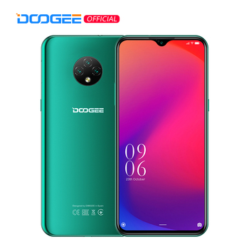 Купить DOOGEE X95 мобильных телефонов 6,52 ''MTK6737 16 Гб Встроенная память Dual SIM 13MP тройной Камера 4350 мА/ч, смартфоны мобильный телефон Android 10 OS 4G-LTE