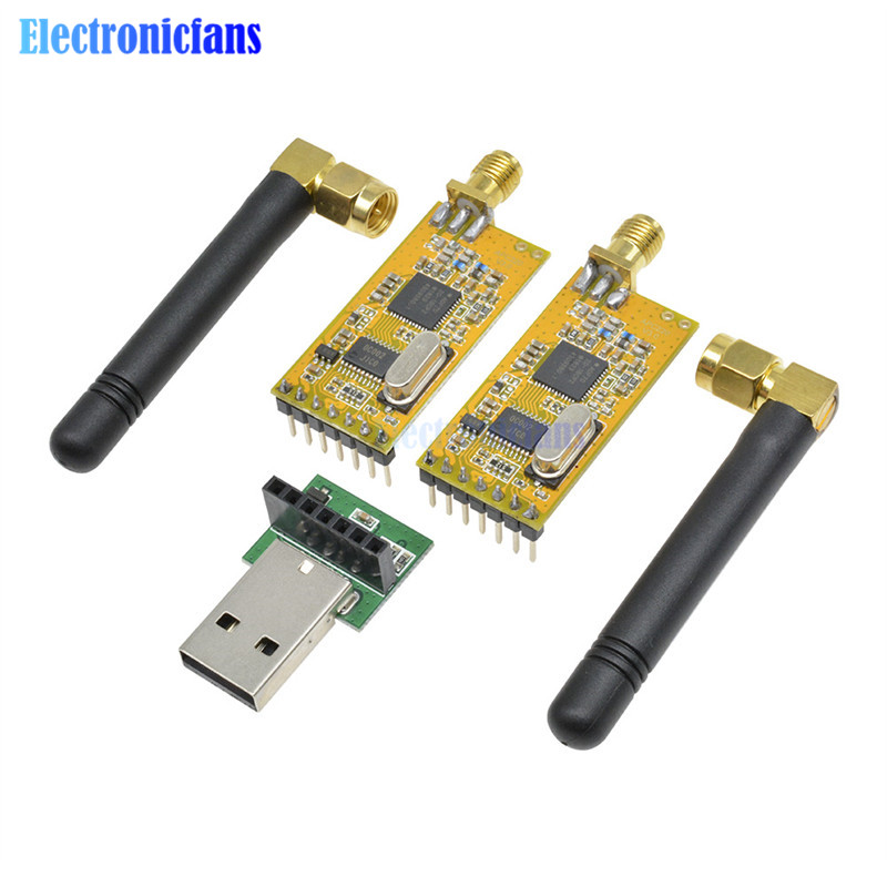 APC220 Wireless RF serial Data Modules With <font><b>Antennas</b></font> <font><b>USB</b></font> Converter Module Adapter Kit For Arduino 3.3V-<font><b>5V</b></font> image