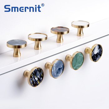 Brass Door Knobs and Handles for Cabinet  Shell Resin Elegant Furniture Handles Kitchen Cupboard Drawer Pulls Wall Hanging Hooks galo 200kgs engine motor system automatic door ac220v ac110v swing gate driver actuator perfect suit gates opener