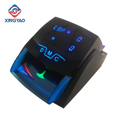 Handy Mix Banknote Detecting Machine Mini Fake Money Detector bill Detector for USD/GBP/EURO Cash Detector With battery