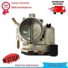 цена на Brand New Throttle Body Assembly OEM 92067741 0280750222 Fits For Chevrolet Captiva 2.4L 2006-2011